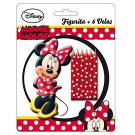 Set velas minnie mouse