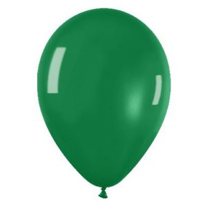 Globo verde cristal