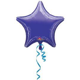 Globo helio estrella morada