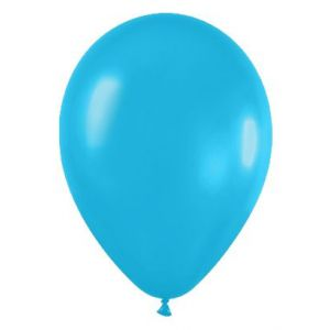 Globo azul caribe solido