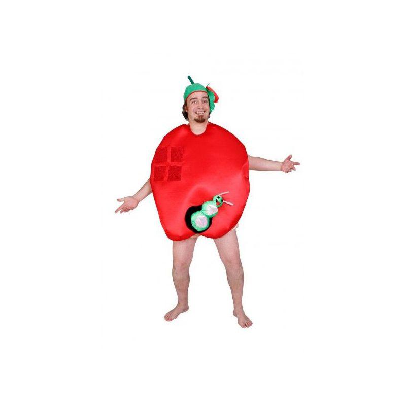 a7d5a8fdc Disfraz Manzana con gusano - Barullo.com