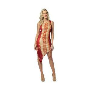 Disfraz bacon chica
