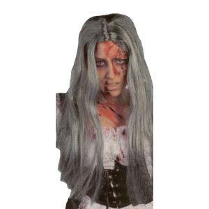 Peluca zombie chica halloween