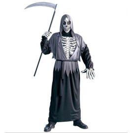 Disfraz tunica con huesos