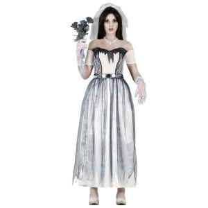 Disfraz novia fantasma gu