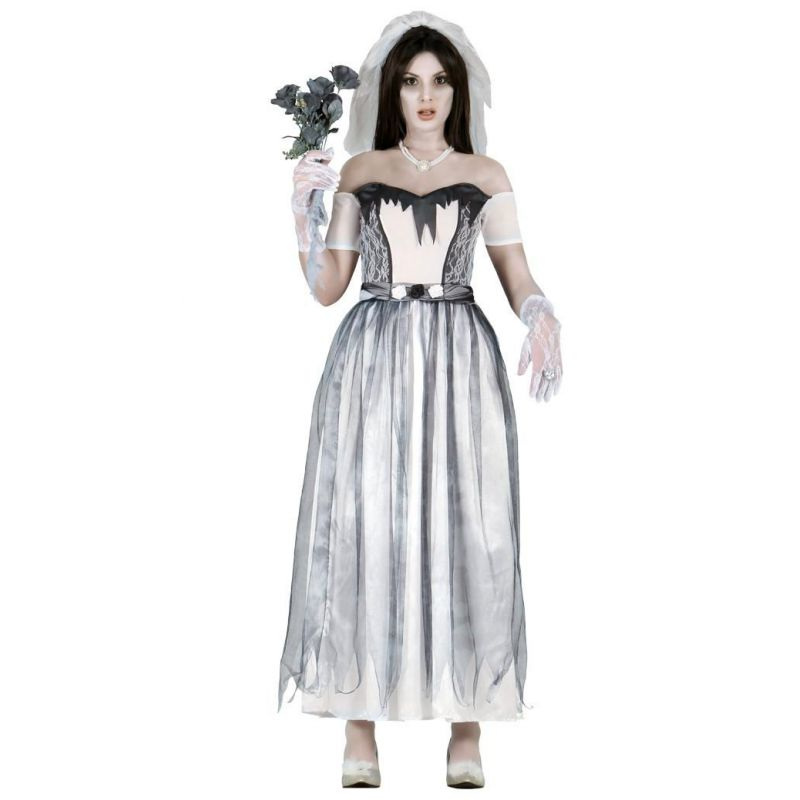 Disfraz novia fantasma mujer Barullocom
