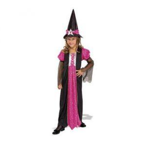 Disfraz bruja medianoche infantil