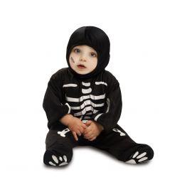Disfraz bebe esqueleto divertido 7-12 me
