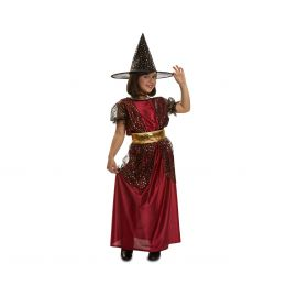 Disfraz bruja encantadora infantil