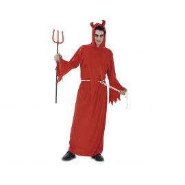 Disfraz diablo tunica terror