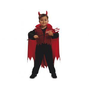Disfraz demonio rojo halloween