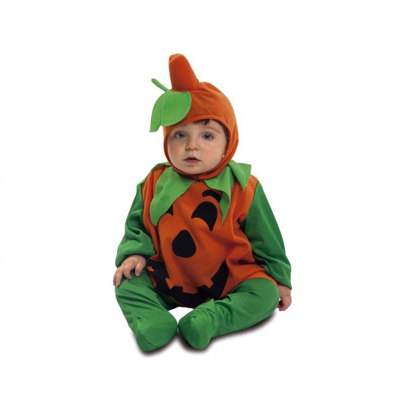 disfraz bebe calabaza 7 a 12 meses