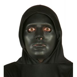 Careta negra halloween