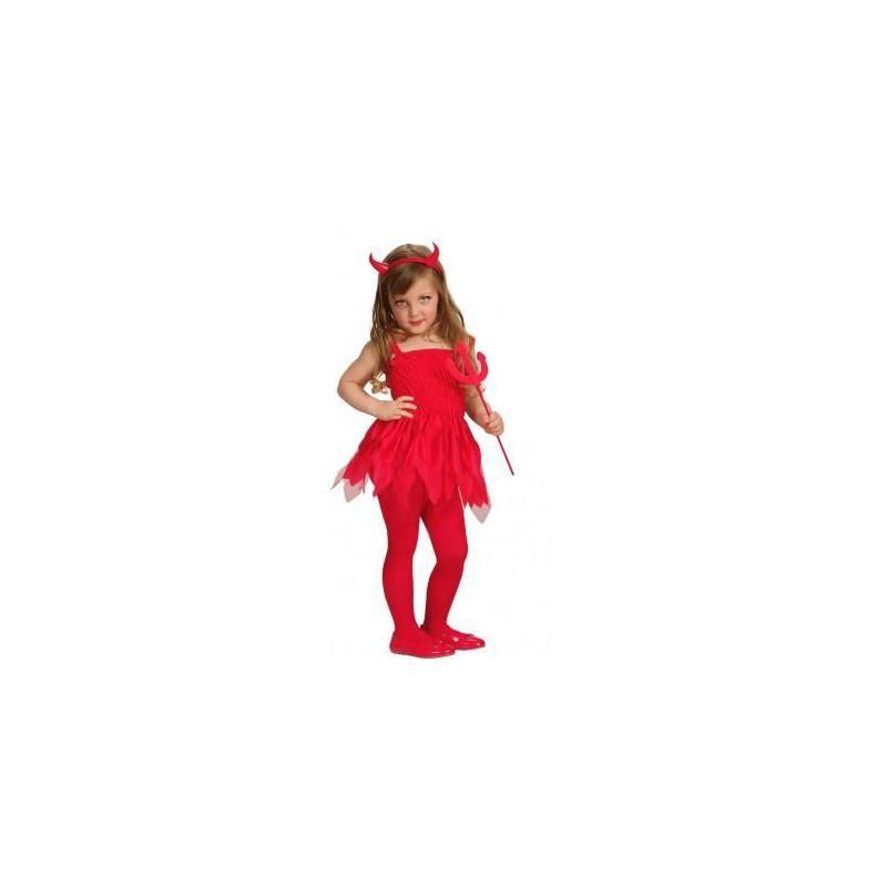 Disfraz Diablita Roja Coqueta Barullocom - Como-maquillar-a-una-diabla