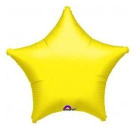 Globo helio estrella amarilla