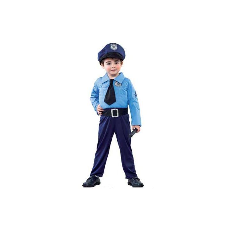 d49440062 Disfraz policia niño de 2 a 4 años - Barullo.com