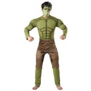 Disfraz hulk musculoso adulto