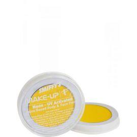 Maquillaje profesional neon amarillo