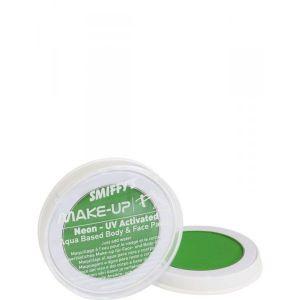 Maquillaje profesional neon verde