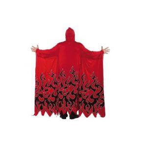 Disfraz tunica infierno roja