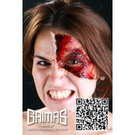 Maquillaje profesional sangre en pasta