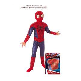Disfraz spiderman lujo caja infantil musculoso