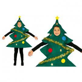 Disfraz arbol de navidad infantil