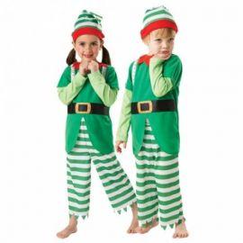 disfraz elfo nios de aos
