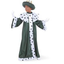 Disfraz rey mago baltasar con corona