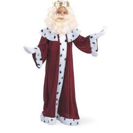 Disfraz rey mago gaspar con corona