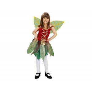Disfraz hada infantil del bosque