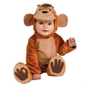 Disfraz mono chympi 12-18 meses
