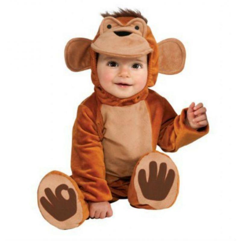 Disfraz mono chympi 12-18 meses - Barullo.com
