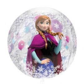 Globo helio frozen esfera