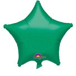 Globo helio estrella verde invierno