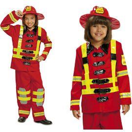 Disfraz bombero infantil
