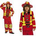 Disfraz bombero niños de 3 a 12 años