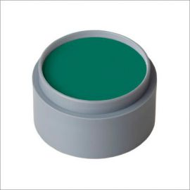 Maquillaje profesional al agua verde