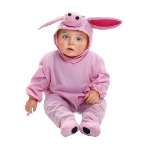 Disfraz bebe cerdito 7-12 meses