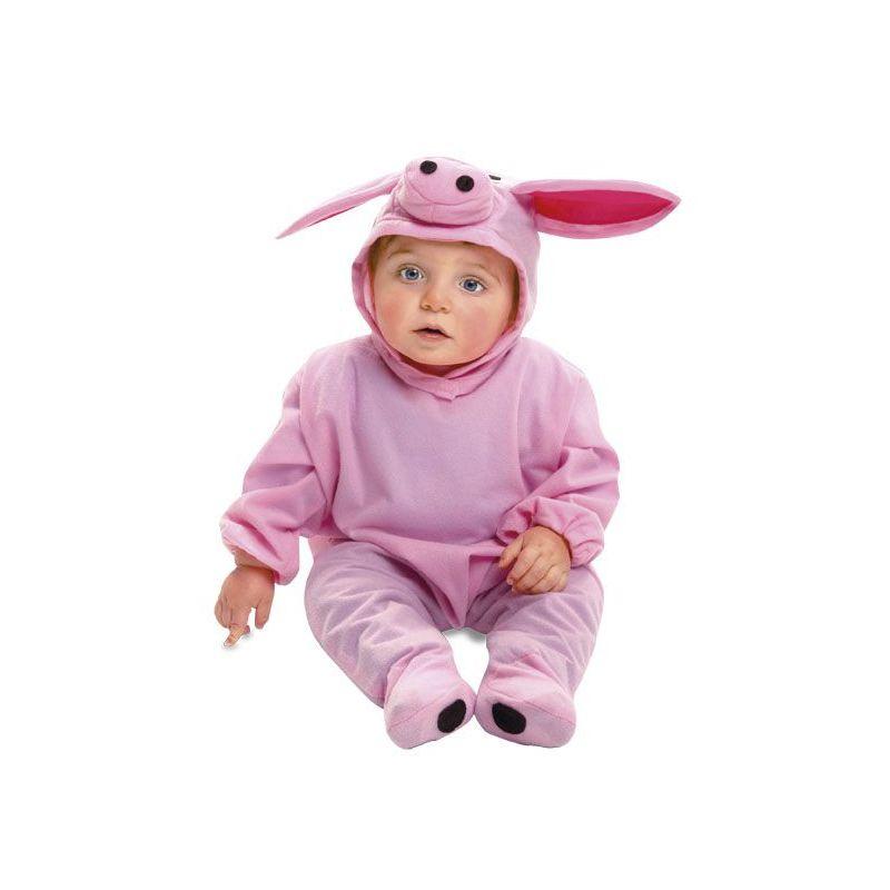 disfraz bebe cerdito meses