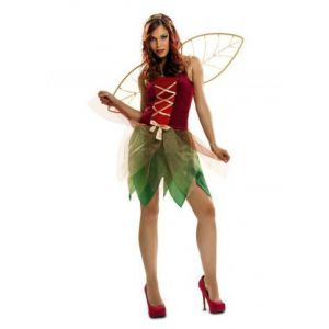 Disfraz hada del bosque mujer adulto
