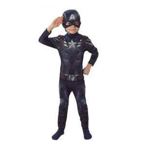 Disfraz Capitán América WS niños de 3 a 8 años