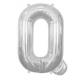 Globo helio letra Q