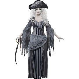 Disfraz piratesa fantasma