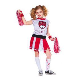 Disfraz animadora zombie infantil