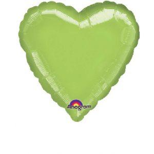 Globo helio corazon kiwi
