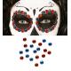 Pegatinas gemas faciales