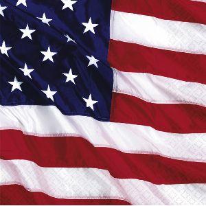 Servilletas bandera americana 16 und
