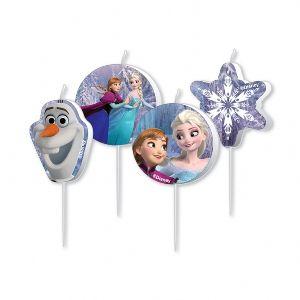 Velas Frozen cumpleaños