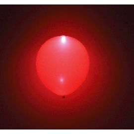 Globos con luz led 5 und rojos